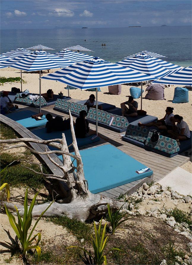 Malamala Beach Club Fiji Loungers