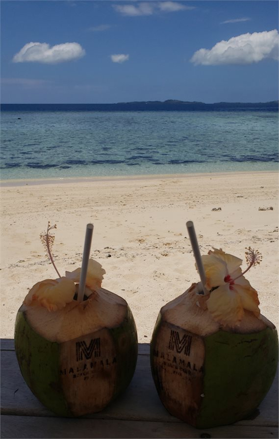 Malamala Beach Club Fiji Cocktails