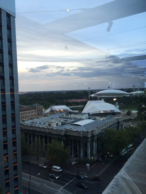 View from the 2KW rooftop bar