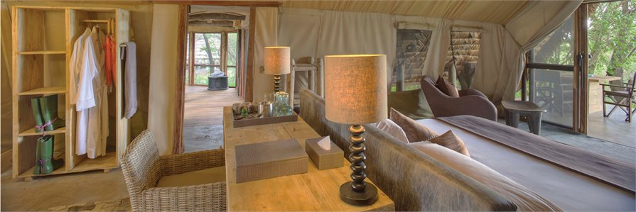 inside the lodges at andBeyond