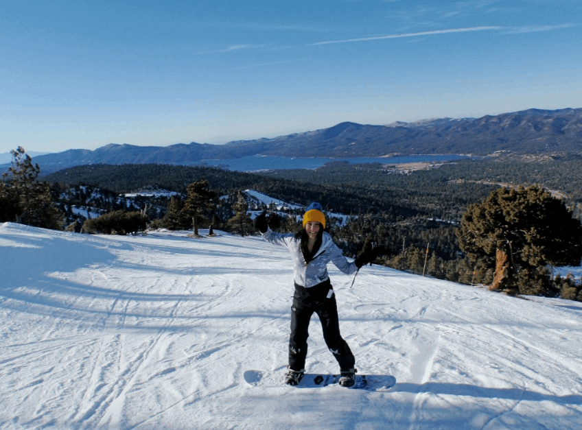 Skiing in the San Bernardino Mountains