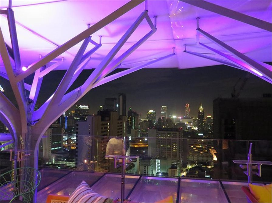 Roof top bars in Bangkok