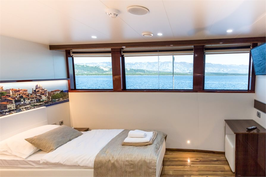 Guest Cabin onboard the MS Stella Maris