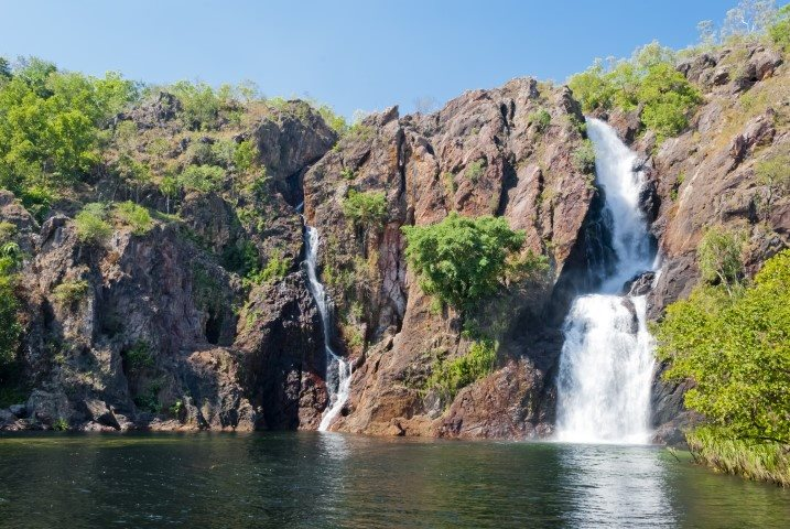 Waterfall and spring in the Northern Territory
