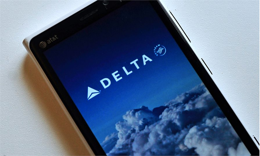 New Delta Airlines app