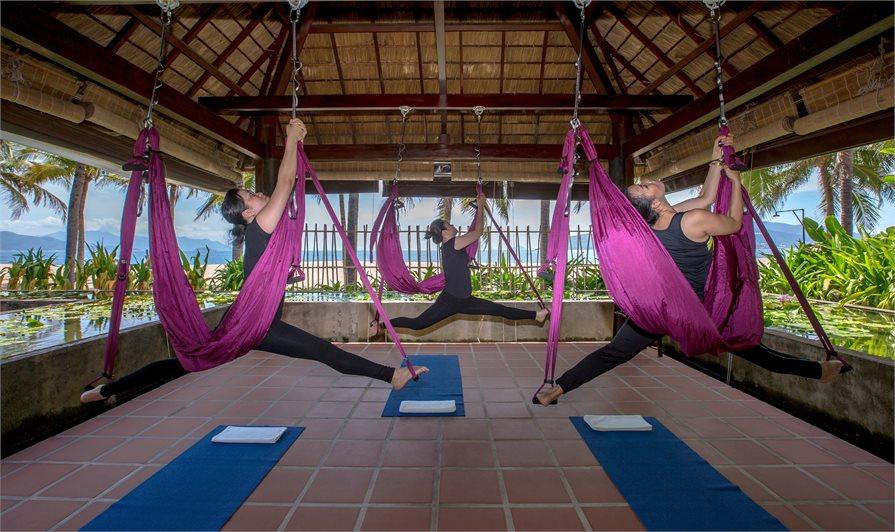 Aerial, or Flying Yoga Vietnam