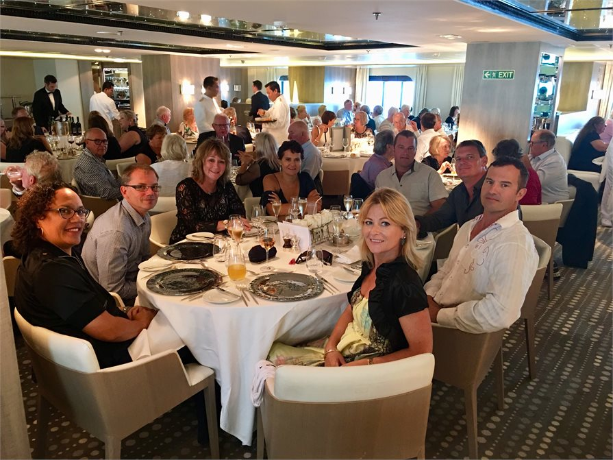 Dining in on board Ponant's L' Austral