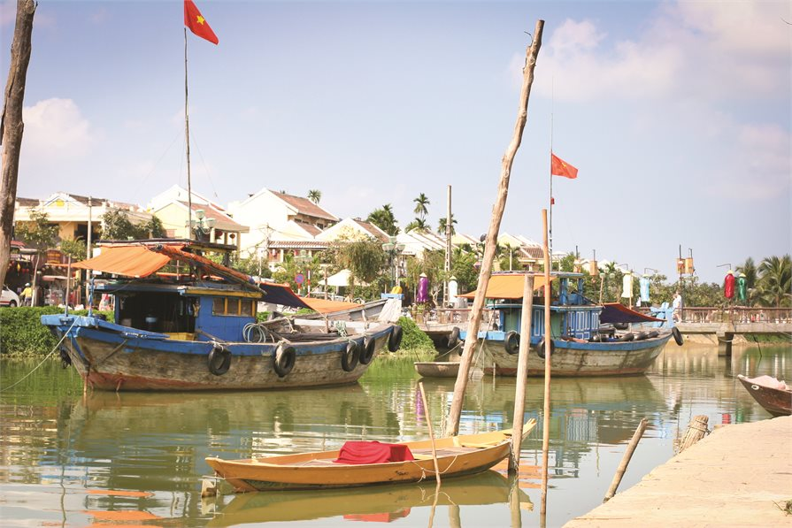Hoi An fishing Village Vietnam