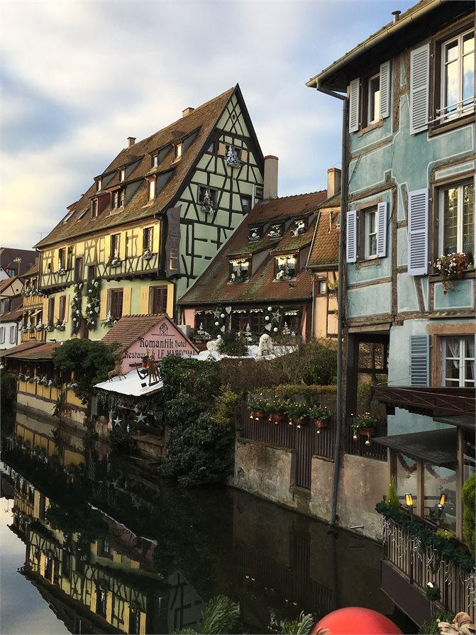 Rhine Valley town of Breisach in Germany