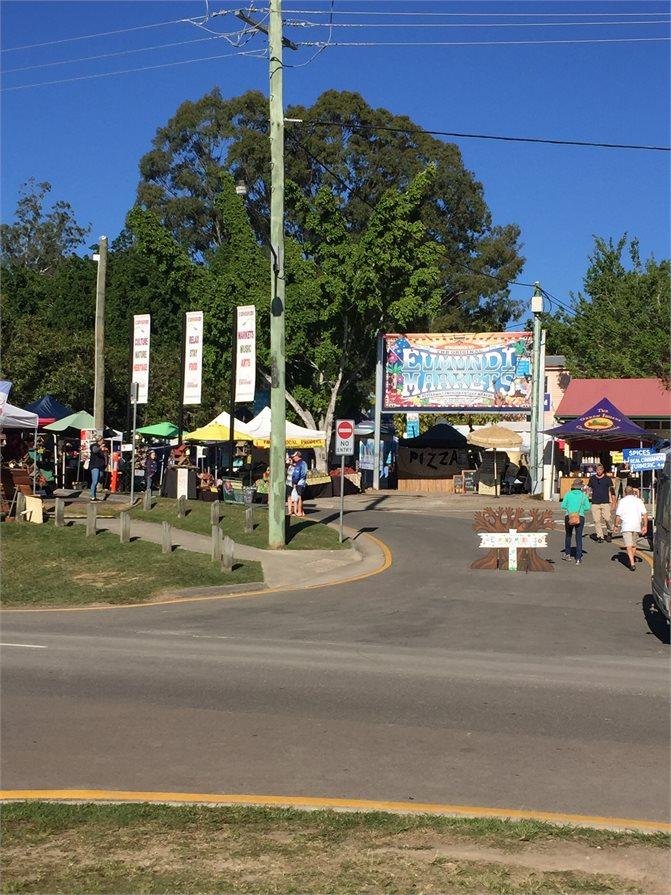 Eumundi Markets Entrance