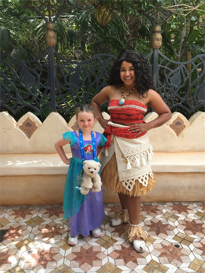 Moana Disney Princess Disneyland