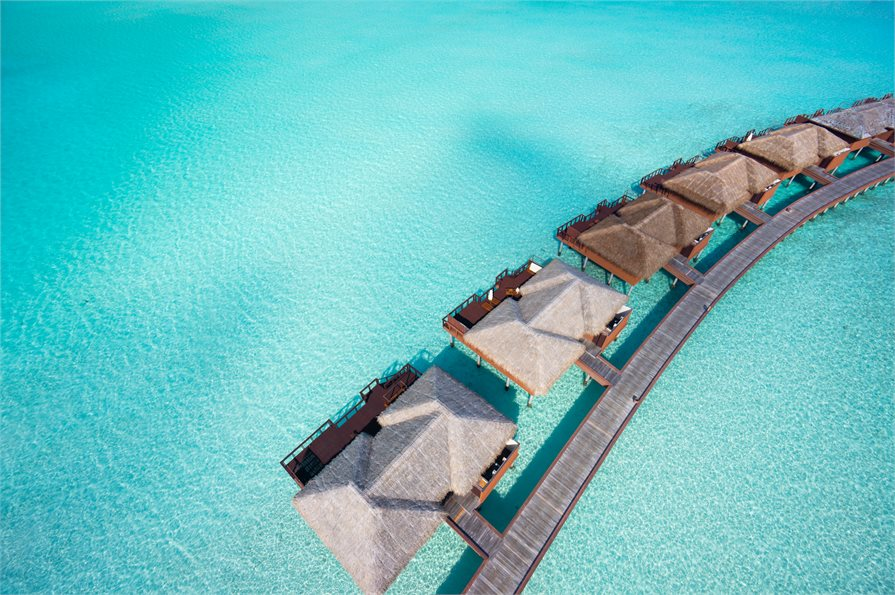 Over water bungalows Maldives
