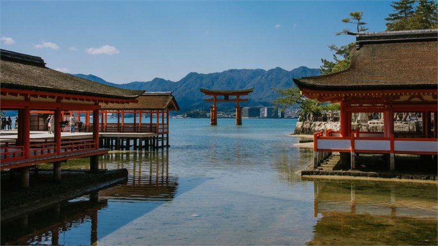 Traditional buildings in Japan
