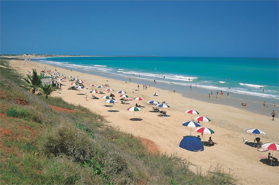 Cable beach Broome Umbrellas