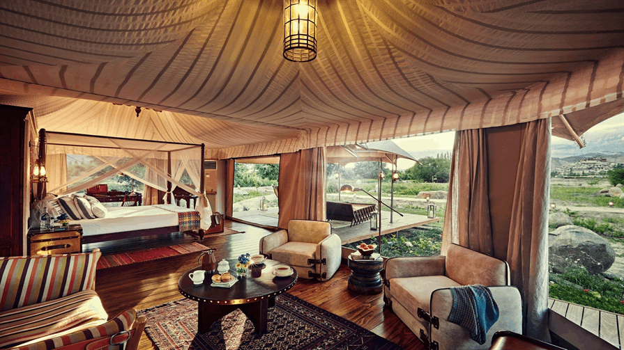 Ladakh Chamba Camp Thiksey, Presidential Suite Tent