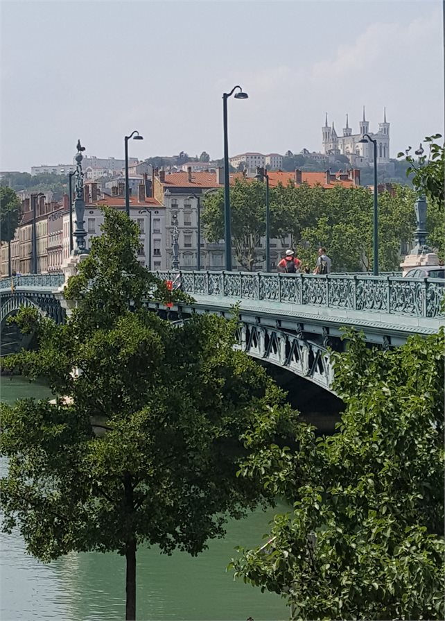 Lyon from the River Rhone