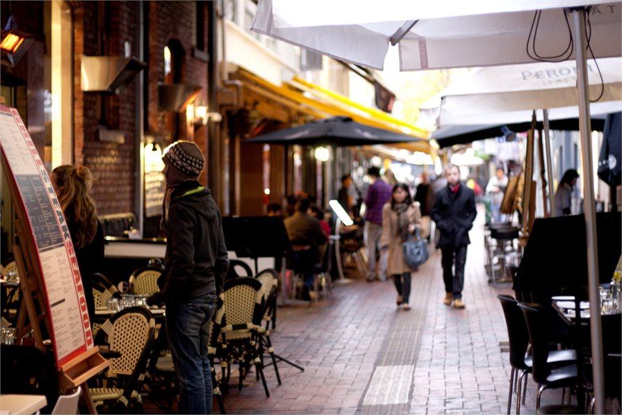 Melbourne Cafe alleyways