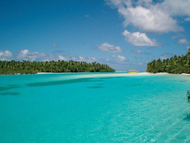 Blue Lagoon in Rarotonga