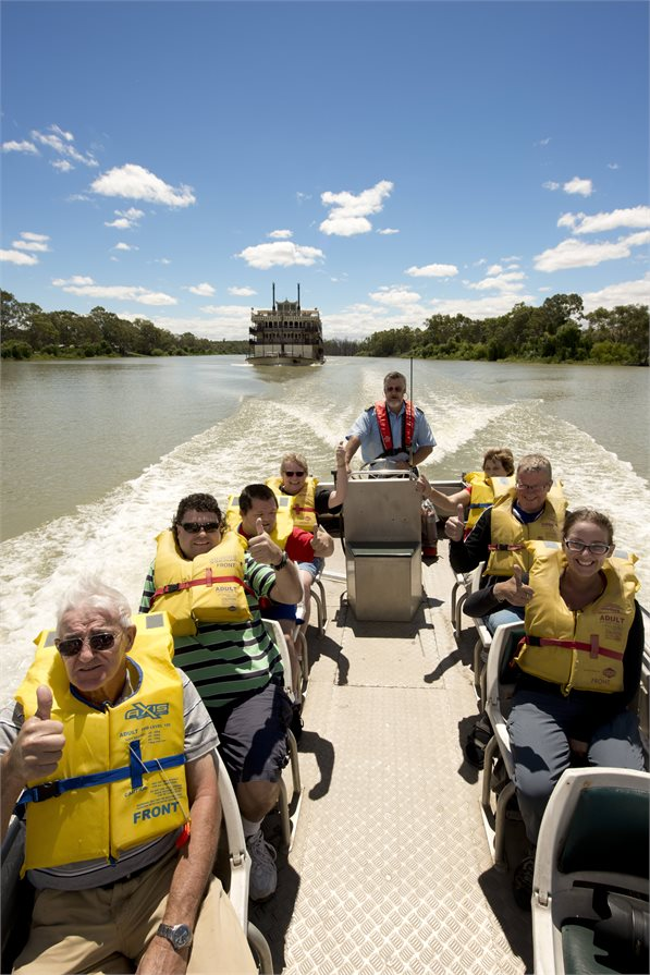 excursion off the Murray Princess Murray River cruise
