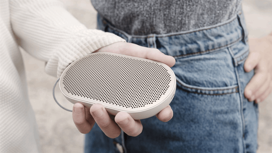 Bang & Olufsen's Beoplay P2 music on the go