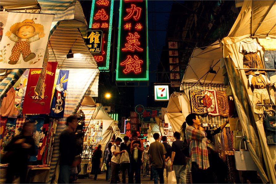 Hong Kong Street markets