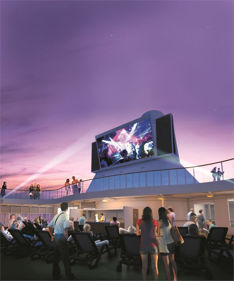 Movies under the stars with P&O