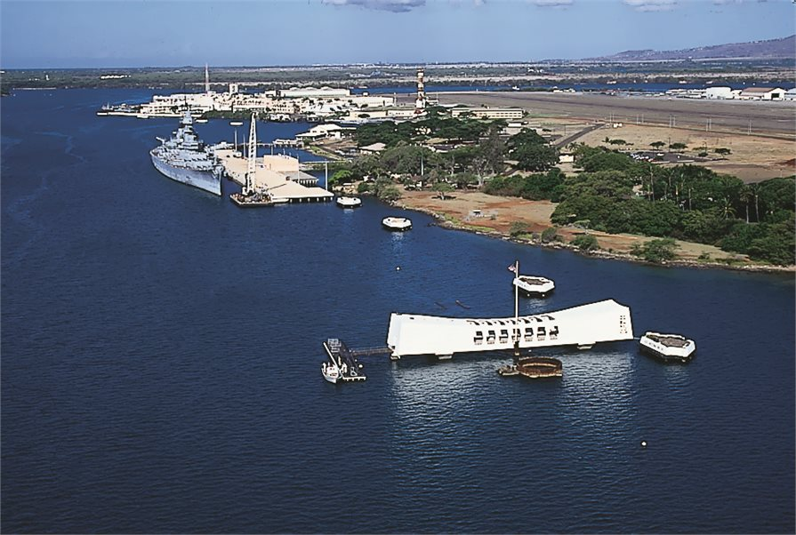 View of the Pearl Harbor Visitor Center