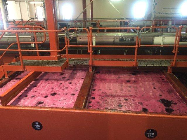 Penfolds Magill Estate wine making