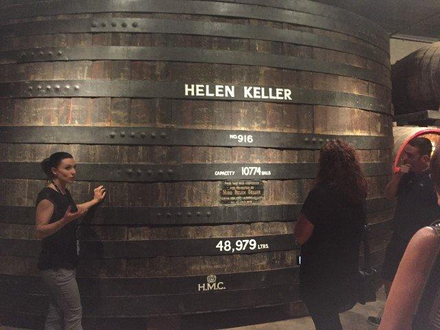 Penfolds Magill Estate wine barrell