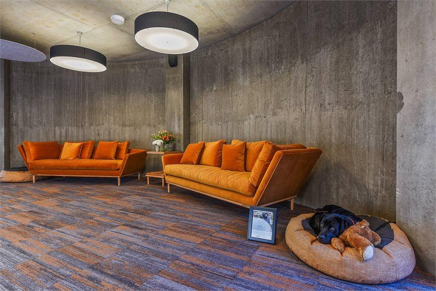 Launceston's new Peppers Silo Hotel lobby
