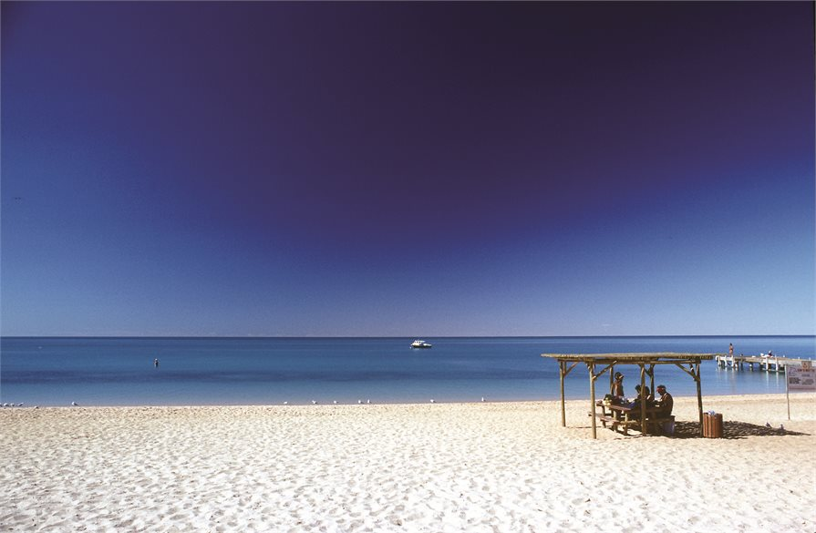 Beach in Perth