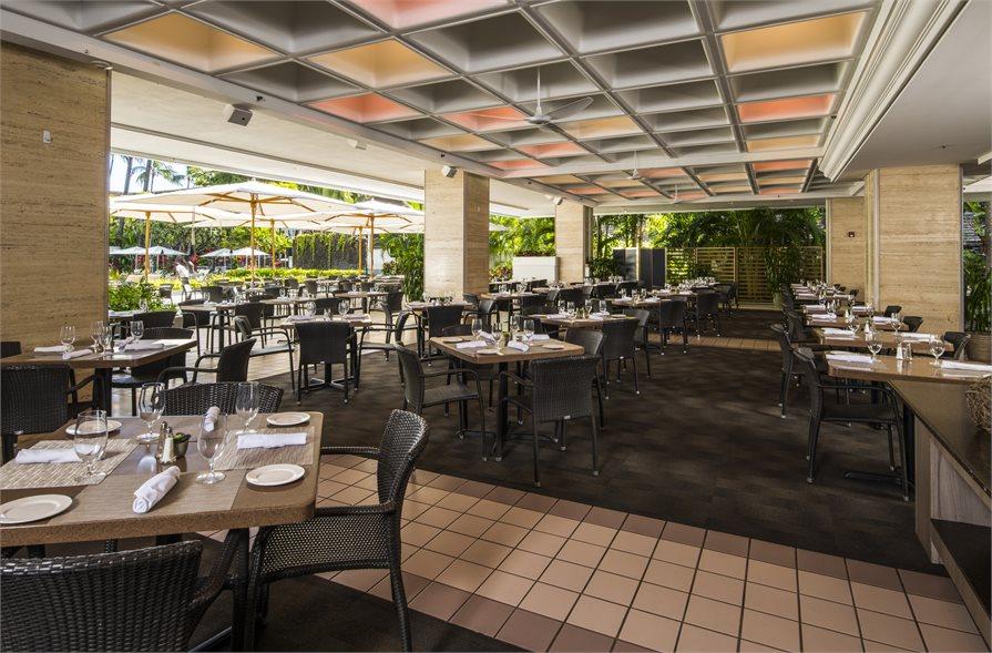 Pikake Terrace Buffet Sheraton Princess Kaiulani Hawaii