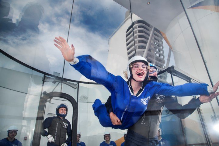 iFly skydiving experience