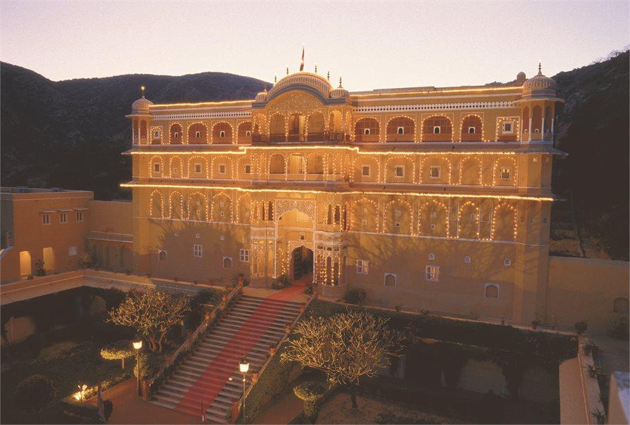 Samode Palace India old building