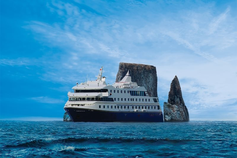 mv Santa Cruz II in the Galapagos Islands