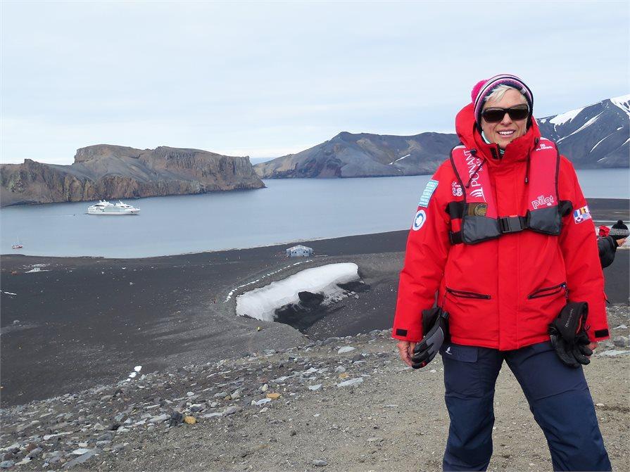 Sarah Porter Antarctica Cruise Ship Rock