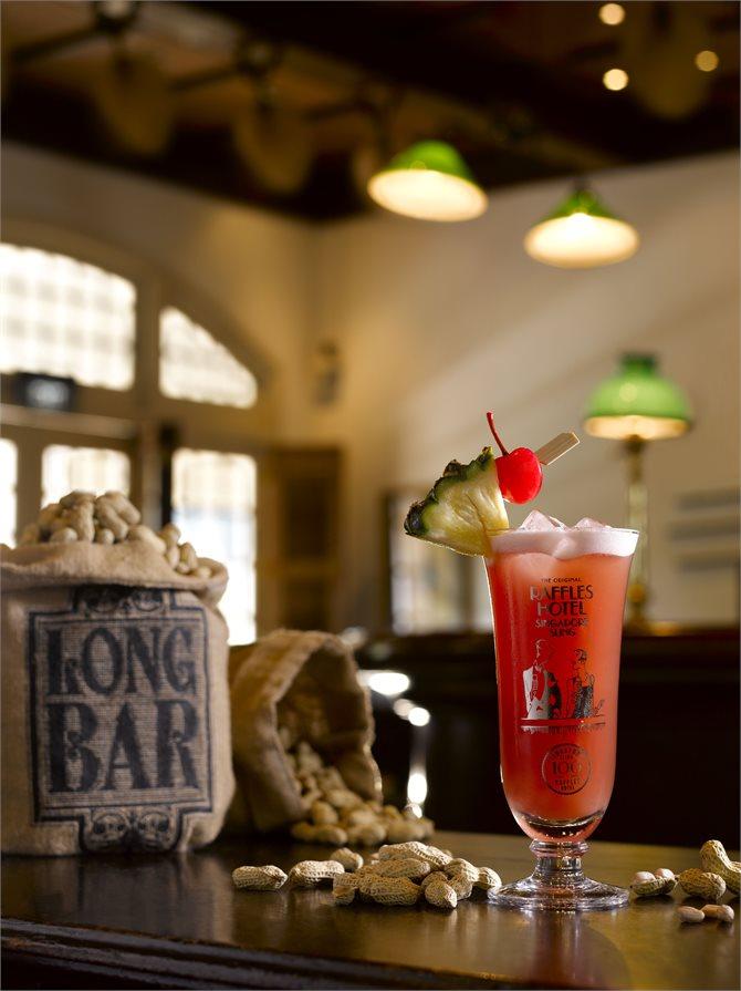 Singapore Sling Raffles Singapore Bar Drink