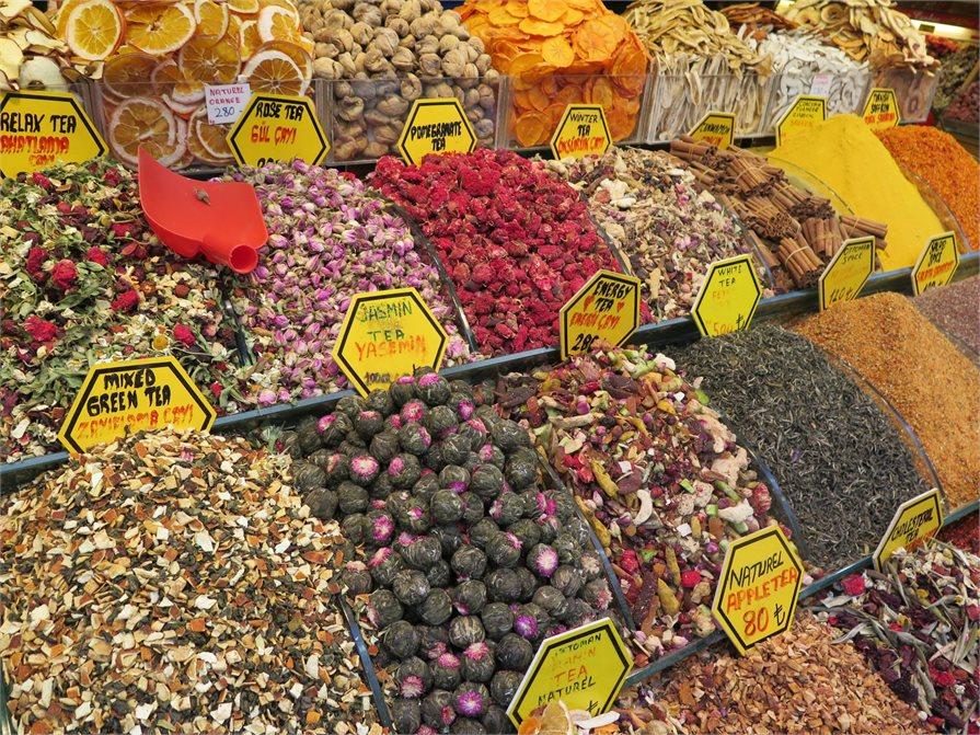 Tea at the Spice Bazaar