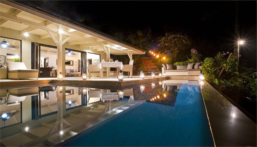 Pool at the Taveuni Palms Resort, Fiji