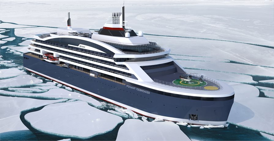 Ponant Icebreaker new cruise ship