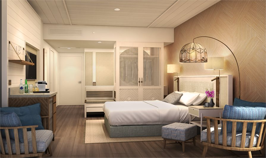 updated accommodation rooms Sofitel Fiji Resort and Spa