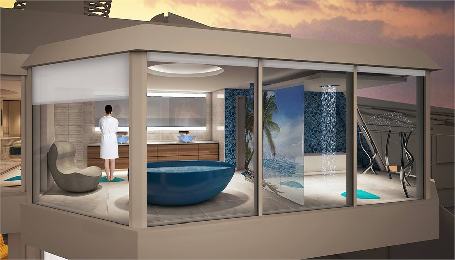 two-level, Ultimate Family Suite on Spectrum of the Seas