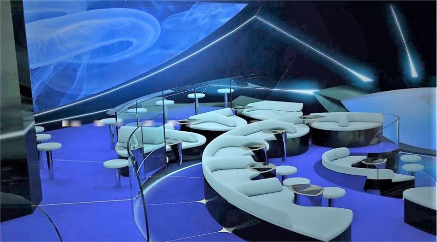 """James Bond""-style underwater lounge debuts at Ponant"
