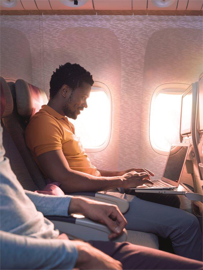 Emirates in flight Wifi