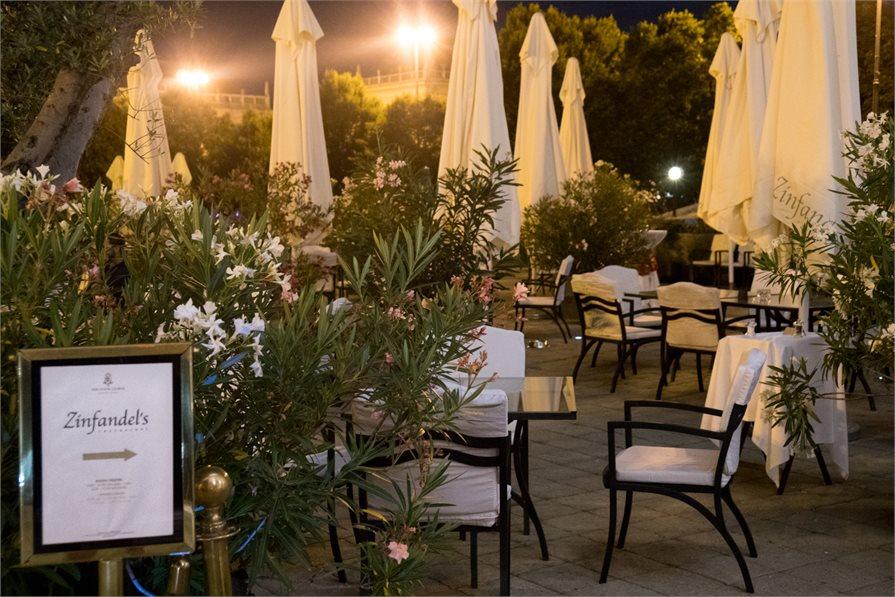 fine dining restaurant Zinfandel's