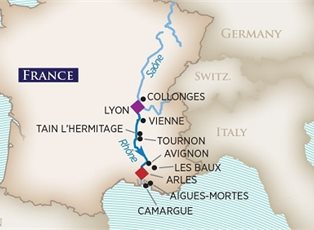 AmaCello, Colours of Provence 2019 ex Arles to Lyon - EU Rivers ...