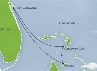 Disney Dream, Merrytime Bahamian Cruise ex Port Canaveral Roundtrip on